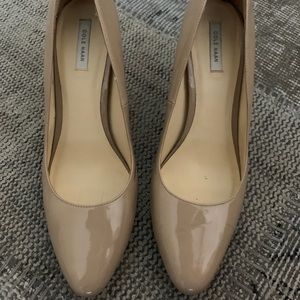 Cole Haan Grand.OS Nude Patent Leather Heels